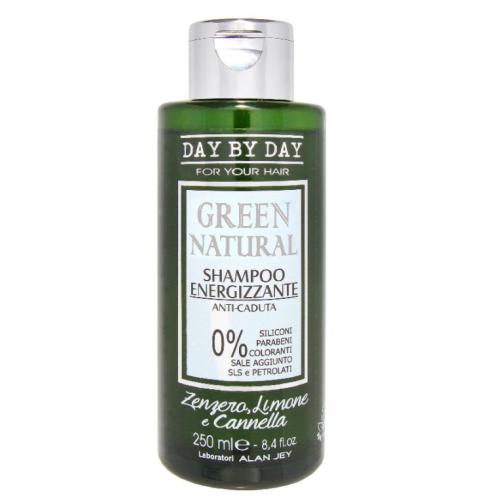 Alan Jey Безсульфатный шампунь энергетический против выпадения Green Natural Shampoo Energizzante 250 мл