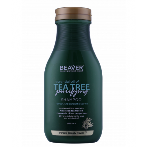 Beaver Professional Шампунь с маслом чайного дерева Tea Tree Oil Shampoo