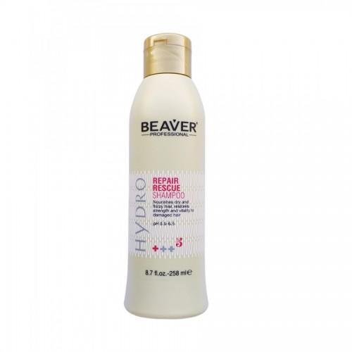 Beaver Professional Шампунь для секущихся волос, восстанавливающий Repair Rescue Shampoo