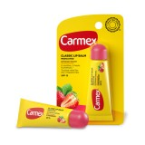 "Лечебный бальзам для губ в тюбике ""Клубника"" Carmex Strawberry Tube Set Lip Balm SPF 15, 10 гр"