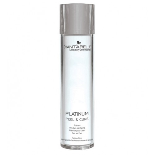 Chantarelle Восстанавливающий и успокаивающий крем Platinum Ultra Cure Anti-Ageing Night Compress-Cream Face Eyes 50 мл