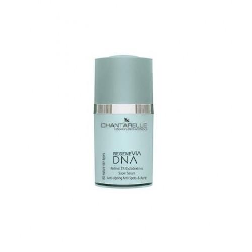 Chantarelle Антиоксидантная сыворотка с ретинолом Retinol 2% Cyclodextrins Super Serum Anti-Ageing, Anti-Spots Anti-Acne 15 мл