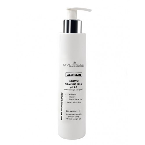 Chantarelle Очищающее и осветляющее молочко рН 4,5 Agemelan Holistic Cleansing Milk pH 4.5 200 мл