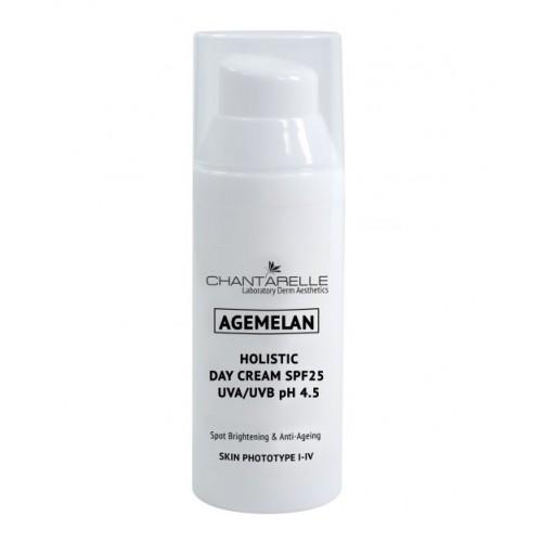 Chantarelle Омолаживающий осветляющий дневной крем SPF 25 UVA/UVB Agemelan Holistic Day Cream SPF25 UVA/UVB pH 4.5 50 мл