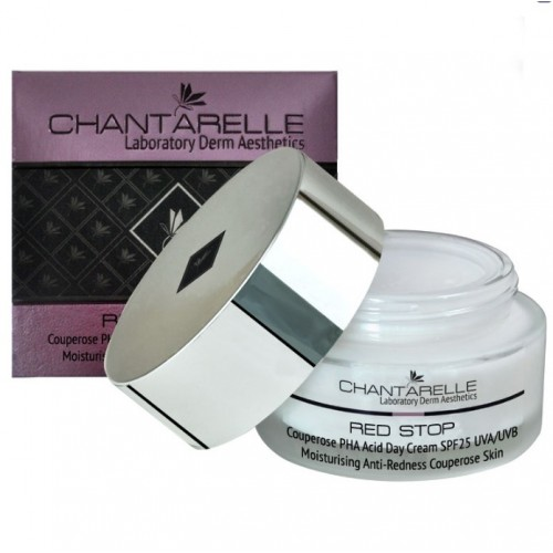 Chantarelle Дневной крем для чувствительной кожи с куперозом Couperose PHA Acid Day Cream SPF 25 UVA UVB 50 мл