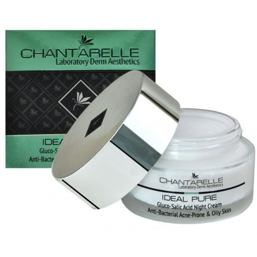 Chantarelle Антибактериальный ночной крем с салициловой кислотой Gluco-Salic Acid Night Cream 50 мл