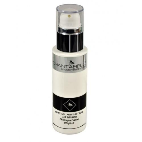 Chantarelle Очищающий лосьон с 11 % Aha Saponaria Aha Sasponaria Skin Prepare Cleanser pH 4.0 100 мл