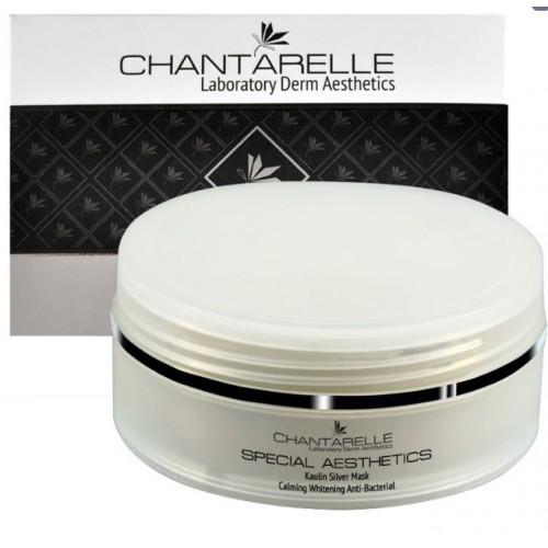 Chantarelle Успокаивающая глиняная маска с серебром, антибактериальная, очищающая White Calm Kaolin Mask With Silver 150 мл