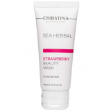 Клубничная маска красоты для нормальной кожи Christina Sea Herbal Beauty Mask Strawberry