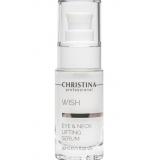 Сыворотка для подтяжки кожи вокруг глаз и шеи Cristina Wish Eye and Neck Lifting Serum, 50 мл