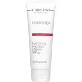 Матирующий крем с защитой от солнца Christina Comodex Mattifying SunScreen SPF-15, 75 мл