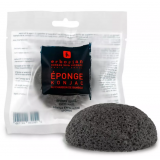 Erborian Спонж конжак с бамбуковым углем Charcoal Konjac Sponge Gentle Exfoliating Sponge 1 шт