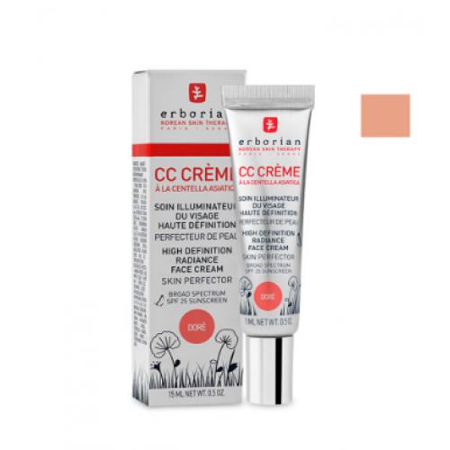 Erborian CC-крем на основе центеллы азиатской Контроль цвета Dore CC Cream SPF25 45 мл