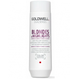 Goldwell Dualsenses Шампунь для осветленных и мелированных волос Blondes Highlights Anti-Yellow Shampoo 250 мл
