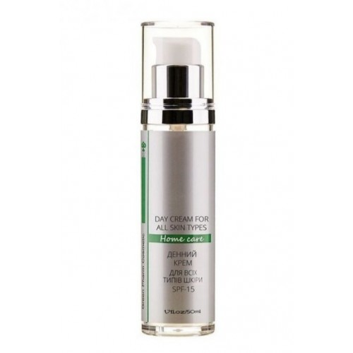 Green Pharm Cosmetic Дневной крем для всех типов кожи с SPF 15 pH 5,5 50 мл