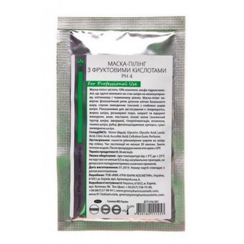 Green Pharm Cosmetic Маска-пилинг с фруктовыми кислотами (pH 4) 30 мл