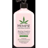 Увлажняющее молочко для тела Грейпфрут Малина Hempz Blushing Grapefruit Raspberry Cream Moisturizer