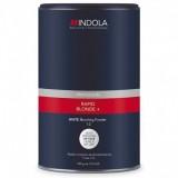Беспылевой осветляющий порошок белый Indola Profession Rapid Blond+ White Dust-Free Powder, 450 гр