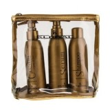 Kleral System Набор с маслом льна шампунь 150 мл, маска, 150 мл, флюид 150 мл
