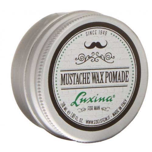 Luxina Воск для усов с длительной фиксацией Mustache Wax Pomade Strong 30мл