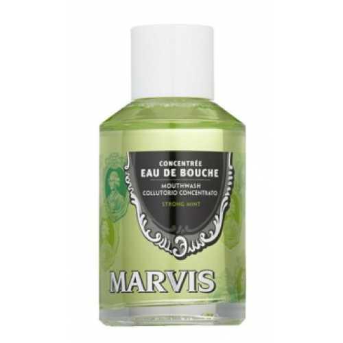 Marvis Concentrate Strong Mint Mouthwash Ополаскиватель-концентрат для полости рта Мятный 120 мл
