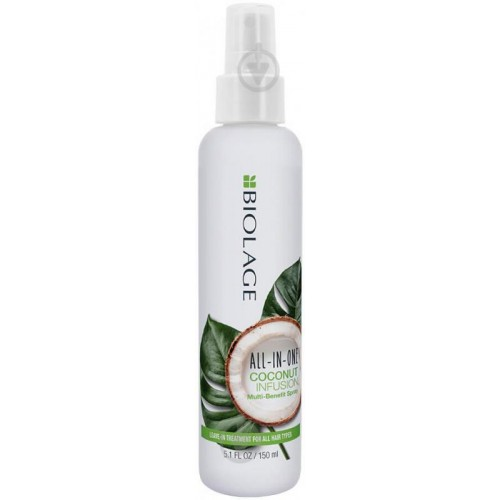 Matrix Biolage Мультифункциональный спрей для волос All-In-One Coconut Infusion Spray 150 мл