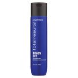 Шампунь для нейтрализации желтизны Matrix Total Results Brass Off Shampoo, 300 мл
