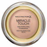 Max Factor Miracle Touch Тональный крем пудра 040 Creamy Ivory Skin Perfecting Foundation SPF30