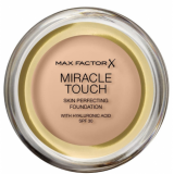 Max Factor Miracle Touch Тональный крем пудра 043 Golden Ivory Skin Perfecting Foundation SPF30