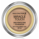 Max Factor Miracle Touch Тональный крем пудра 048 Golden Beige Skin Perfecting Foundation SPF30