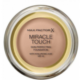 Max Factor Miracle Touch Тональный крем пудра 078 Sand Beige Skin Perfecting Foundation SPF30