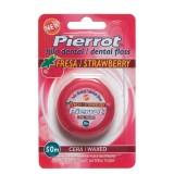 Pierrot Зубная нить Клубника Dental Floss Strawberry 50 м