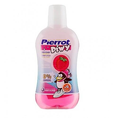 Pierrot Детский ополаскиватель для полости рта со вкусом клубники PIWY Mouthwash 500 мл