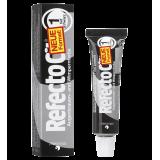 Refectocil Краска для бровей №1 Dark Black глубокий-черный, 15 мл