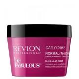 Revlon Professional Маска для нормальных и густых волос Be Fabulous C.R.E.A.M. Mask For Normal Thick Hair 200 мл