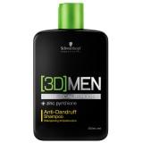 Шампунь против перхоти Schwarzkopf 3D Man Anti-Dandruff Shampoo