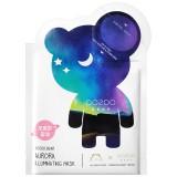 The OOZOO Тканевая маска для сияния кожи лица Северное сияние Bear Aurora Illuminating Mask 1 шт