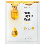 The OOZOO Тканевая маска с капсулой-активатором и маточным молочком для питания кожи Fresh Capsule Mask 1 шт