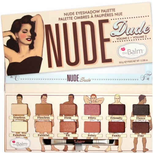 theBalm Палетка теней для век Nude Dude