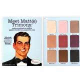 theBalm Матовая палетка теней Meet Matt(e) Trimony