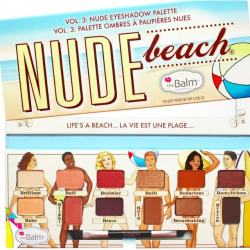 theBalm Палетка теней для век Nude Beach