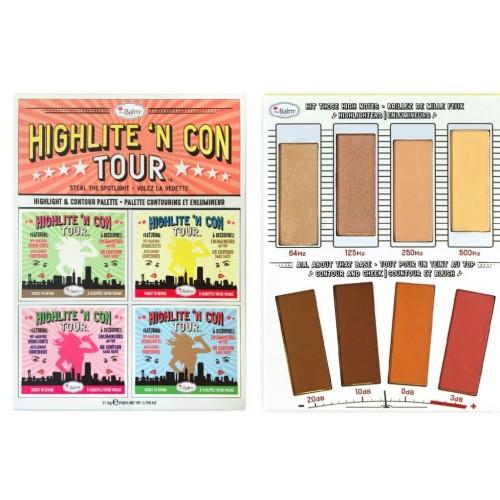 theBalm Палетка для цветокоррекции лица Highlite N Con Tour