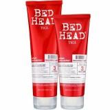 Набор Шампунь+Кондиционер для восстановления слабых, ломких волос Tigi Bed Head Urban Antidotes Resurrection Shampoo