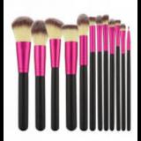 Tools For Beauty Набор кистей для макияжа Black Pink 12 шт