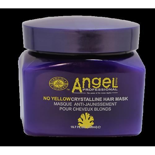 Angel Professional Маска для нейтрализации желтого оттенка Crystalline Mask 500 мл