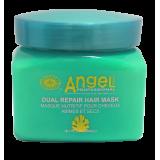 Angel Professional Маска двойного действия для восстановления и питания поврежденных волос AMB Dual Repair hair Mask 500 мл